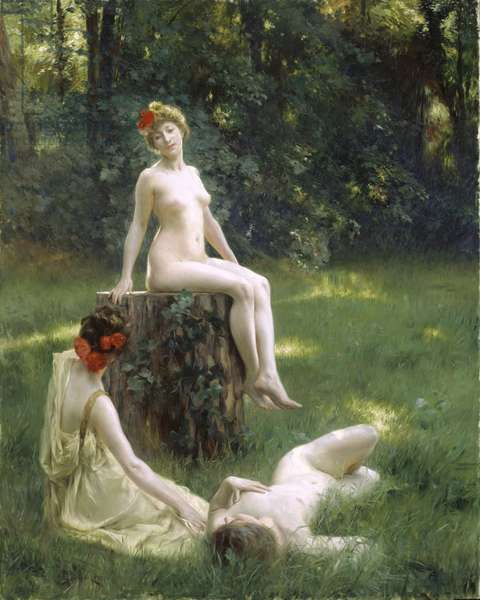 The Glade, 1900 (oil on canvas)