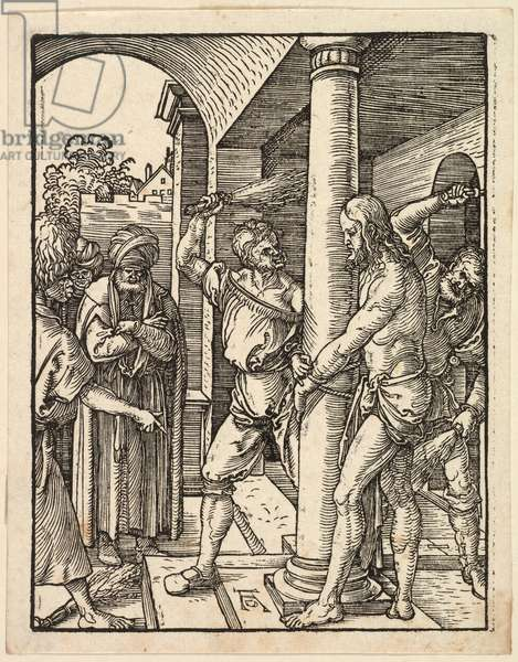 The Flagellation, 1509-11 (woodcut on paper)