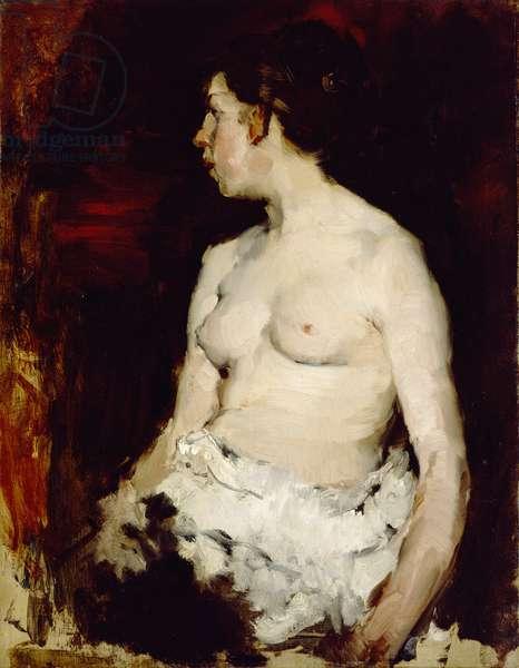 Seated Nude, c.1879 (oil on canvas)