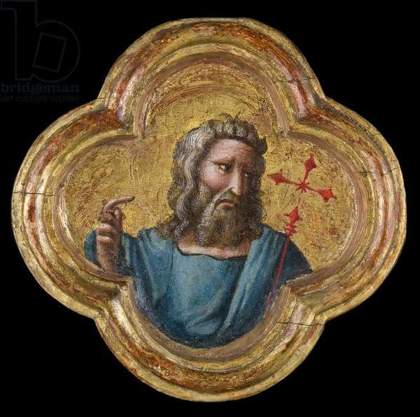 St. John the Baptist, 1370/77 (tempera on panel)