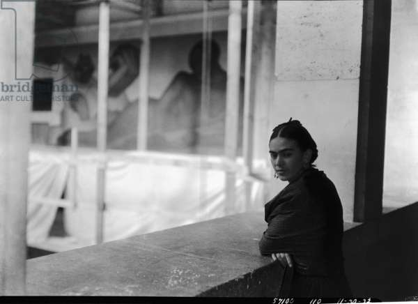 Frida Kahlo, c.1932 (b/w photo)