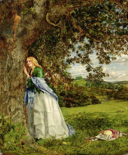 The Talking Oak, 1857 (oil on canvas)