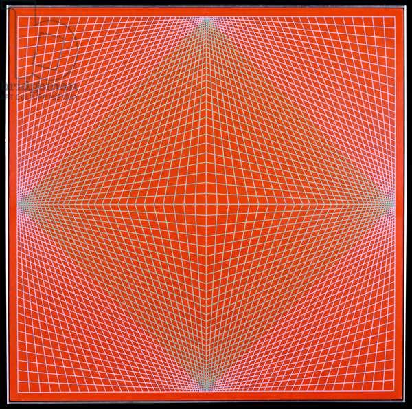 Convexity, 1966 (acrylic on canvas)