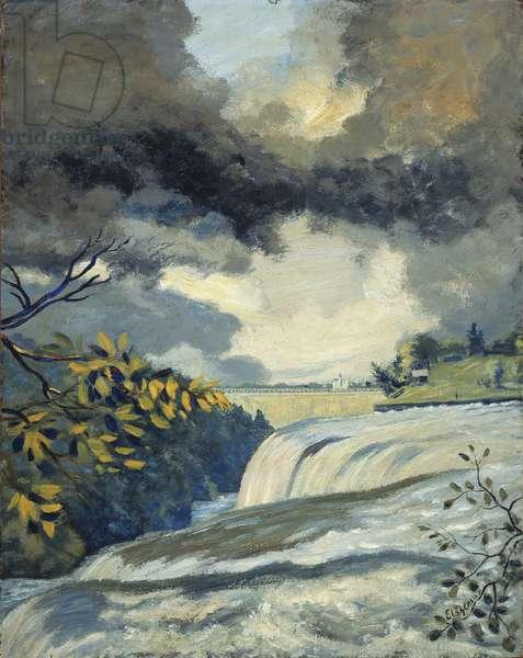 Niagara Falls, 1907-08 (oil on canvas)