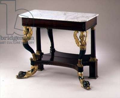 Pier table, c.1815 (rosewood and gilt)