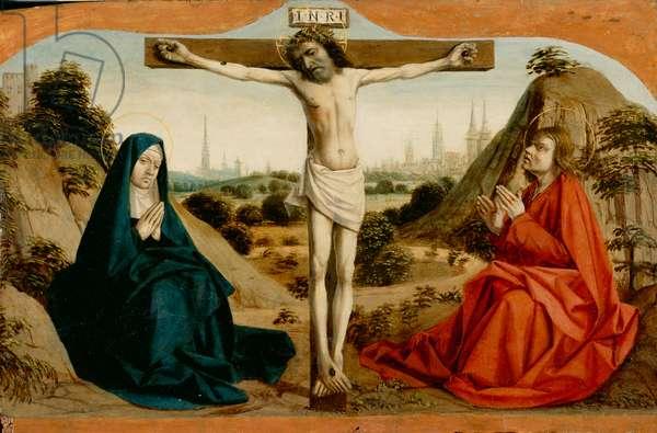 Crucifixion, c.1500 (paint on wood panel)
