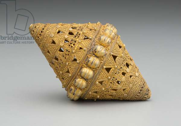 Bead, 19th/20th Century (gold filligree)