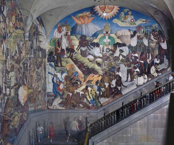 History of Mexico: The Aztec World, 1929 (photo)