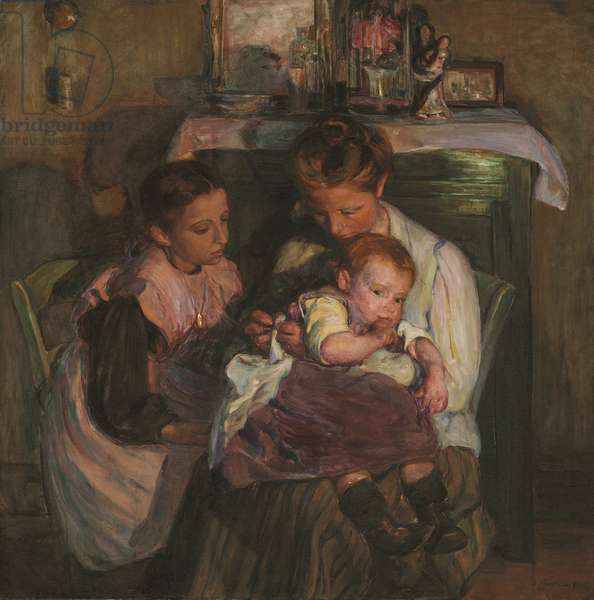 Happy Days, 1905 (oil on canvas)