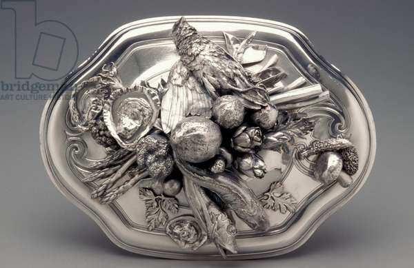 Tureen Cover, 1729 (silver)