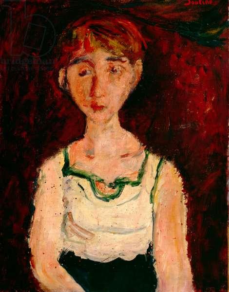 Little Girl (oil on canvas)