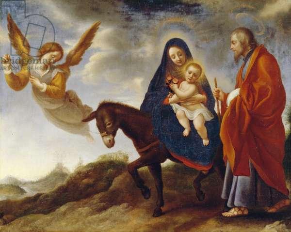 The Flight into Egypt, c.1648/50 (oil on canvas)