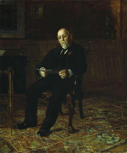 Robert M. Lindsay, 1900 (oil on canvas)