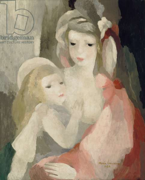 Mother and Child, 1928 (oil on canvas)
