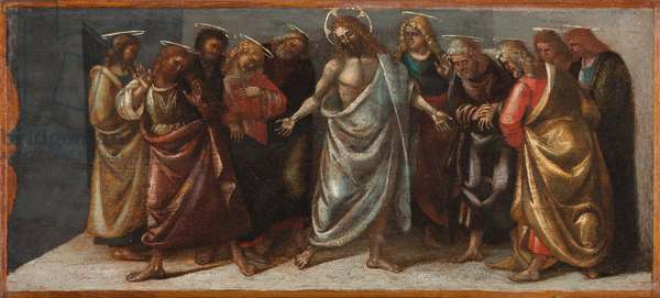The Resurrected Christ appearing to his Disciples, c.1514 (tempera & oil on wood panel)