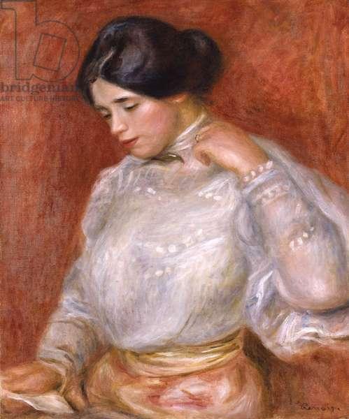 Graziella, 1896 (oil on canvas)