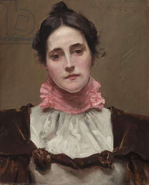 Mrs. William Merritt Chase, c.1890 (oil on canvas)