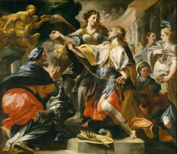 Solomon Worshiping the Pagan Gods, c.1695/1700 (oil on canvas)