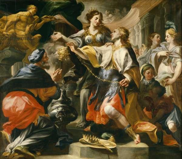 Solomon Worshiping the Pagan Gods, c.1695/1700 (oil on canvas)