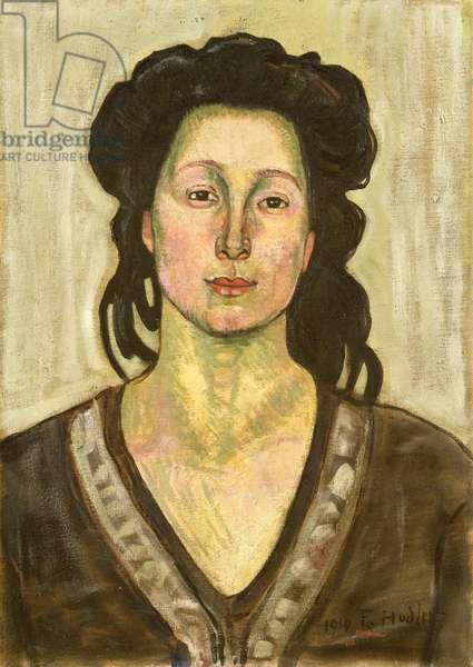 Portrait of Jeanne Cerani, 1910 (oil on canvas)