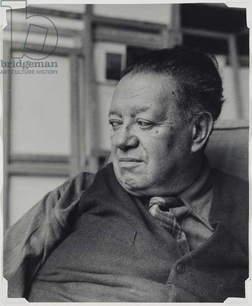 Diego Rivera (III), c.1945 (gelatin silver print)