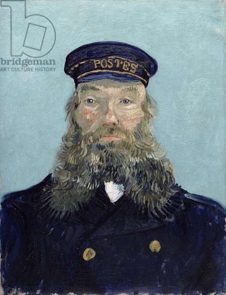 Portrait of Postman Roulin, 1888 (oil on canvas)