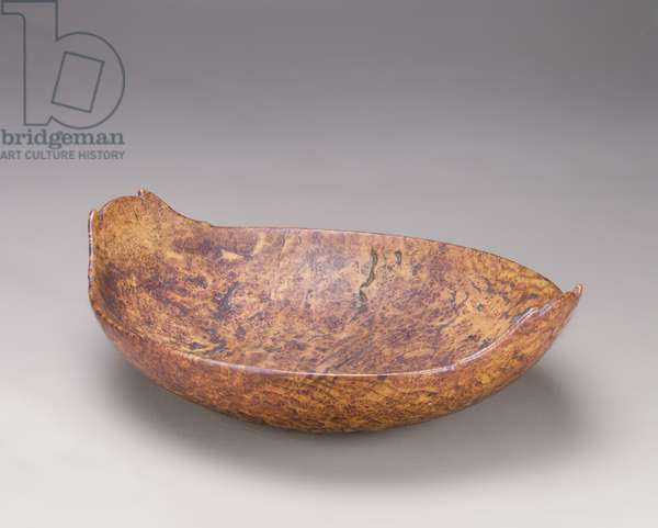 Bowl, Eastern Sioux, Native American, c.1850 (ash wood)