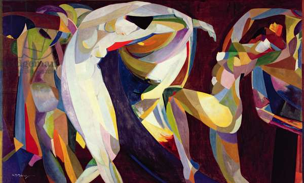 Dances, 1914/15 (oil on canvas)