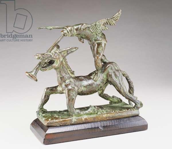 DTR: Spectre Riding the Golden Ass, 1945 (bronze)
