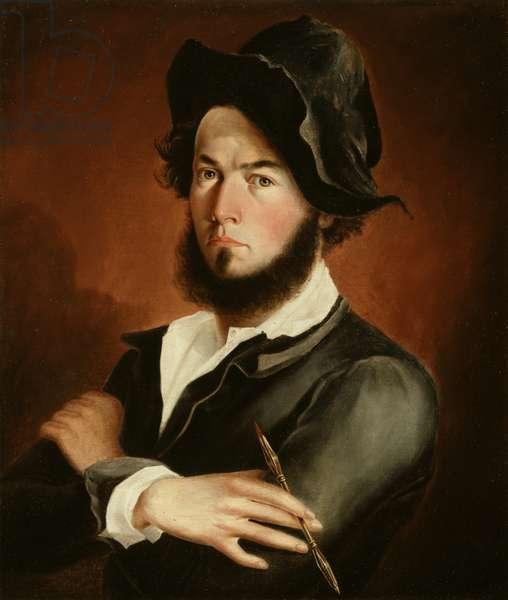 Self Portrait, 1845 (oil on canvas)
