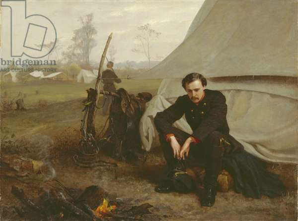 At the Front, 1866 (oil on canvas)
