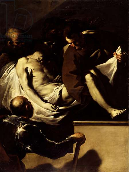 The Entombment of Christ, c.1659-60 (oil on canvas)