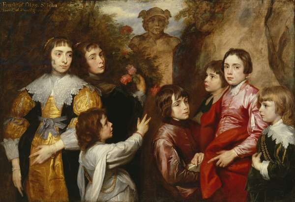 A Family Group, 1634/35 (oil on canvas)
