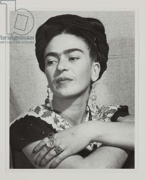 Frida Kahlo, c.1940 (gelatin silver print)