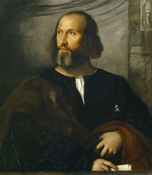 Portrait of a Bearded Man, c.1515 (oil on canvas)