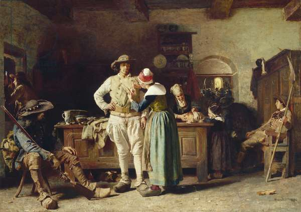 In Hoc Signo Vinces, 1880 (oil on canvas)