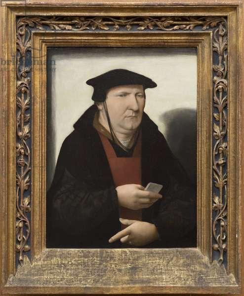 A Man, c.1530 (oil on panel)