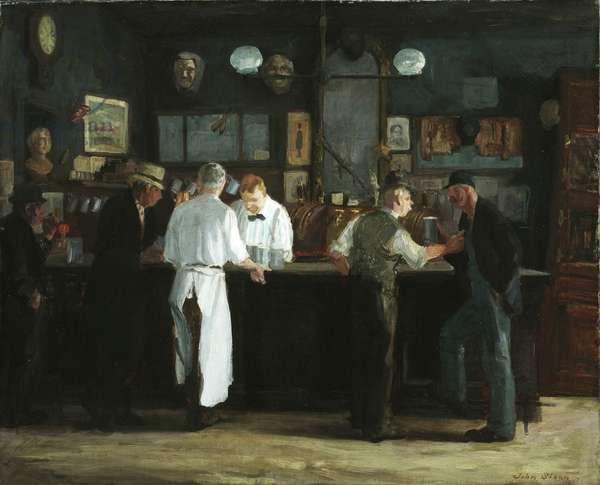 McSorley's Bar, 1912 (oil on canvas)