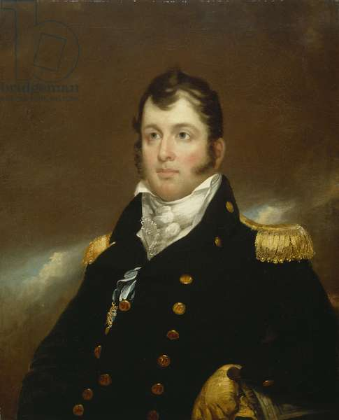 Commodore Oliver Hazard Perry, c.1814 (oil on canvas)