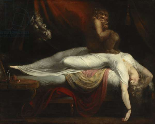 The Nightmare, 1781 (oil on canvas)