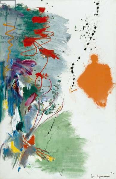 Lent, 1960 (acrylic on canvas)