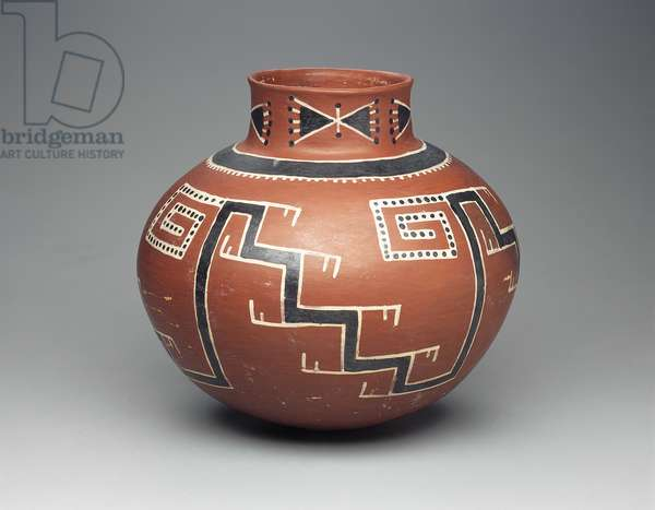 Foumile polychrome jar, Anasazi, 1300/1500 (ceramic)