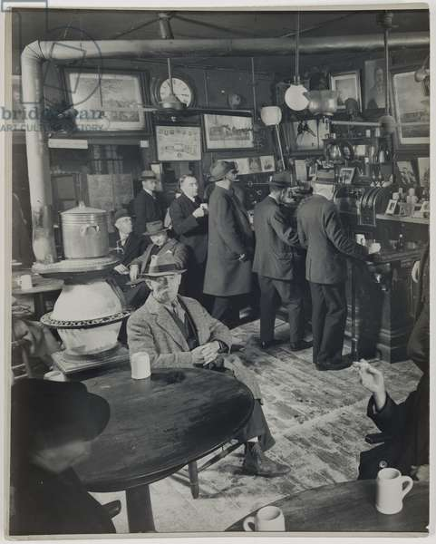 McSorley's Ale House, 15 East 7th Street, Manhattan, between 1930 and 1940 (gelatin silver print)
