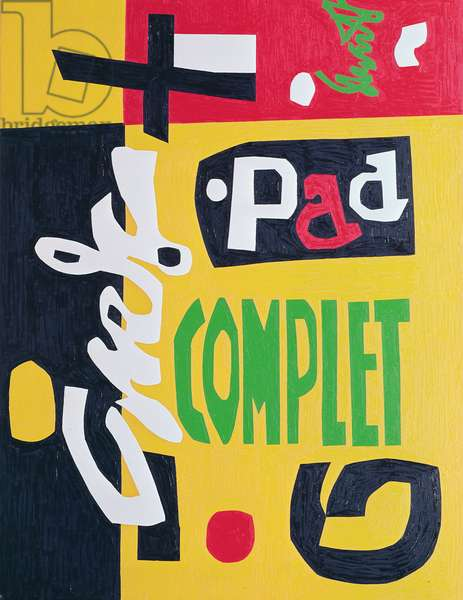 Standard Brand, 1961 (oil on canvas)