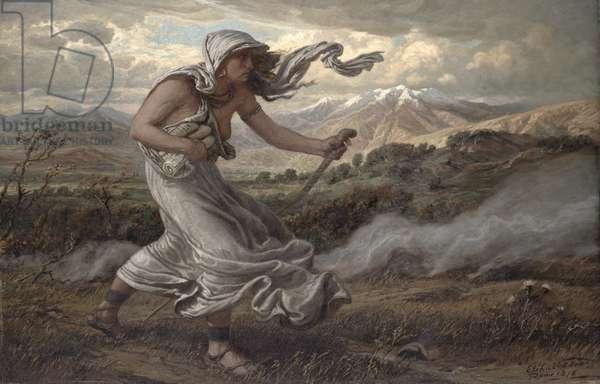 The Cumaean Sibyl, 1876 (oil on canvas)