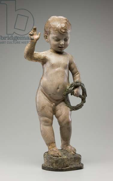 Christ Child (stucco with polychrome decoration)