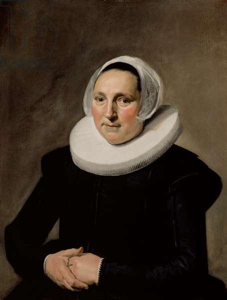 Portrait of a Woman, 1634 (Oil on oak panel)