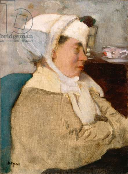 Woman with a Bandage, c.1872 (oil on canvas)