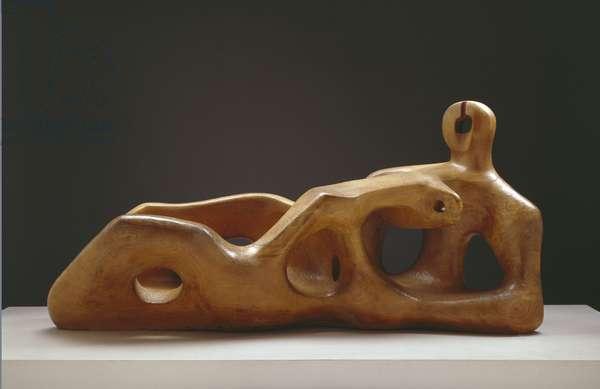 Reclining Figure, 1939 (elm)