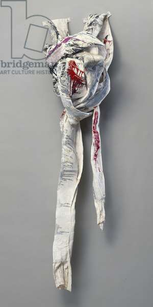 The Last Painted Knot, 1973 (paint & cloth)